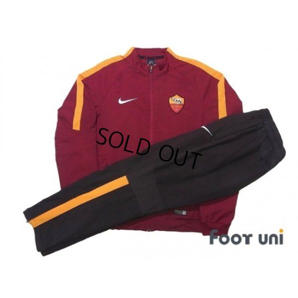 Photo1: AS Roma Track Jacket and Pants Set