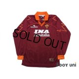 AS Roma 1999-2000 Home Long Sleeve Shirt #8 Hidetoshi Nakata w/tags