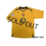 Arsenal 2005-2006 Away Shirt #14 Henry Champions League Patch/Badge