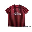 Photo1: AC Milan 2019-2020 Home Shirt #21 Ibrahimović (1)