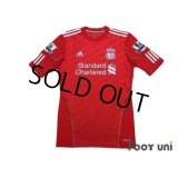 Liverpool 2010-2011 Home Authentic Shirt #8 Gerrard BARCLAYS PREMIER LEAGUE Patch/Badge