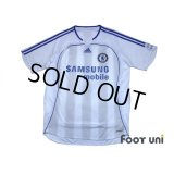 Chelsea 2006-2007 Away Authentic Shirt #6 Carvalho