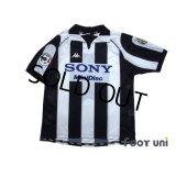 Juventus 1997-1998 Home Shirt #10 Del Piero Lega Calcio Patch/Badge