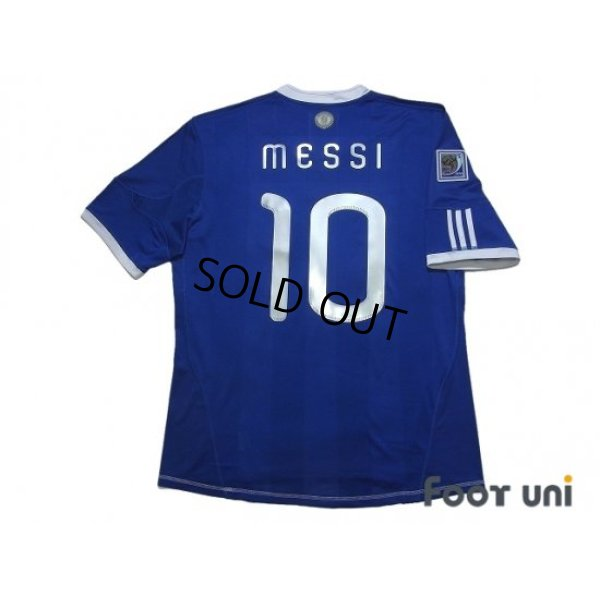 Photo2: Argentina 2010 Away Shirt #10 Messi 2010 South Africa FIFA World Cup Patch/Badge