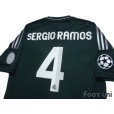 Photo4: Real Madrid 2012-2013 3rd Shirt #4 Sergio Ramos Champions League Patch/Badge