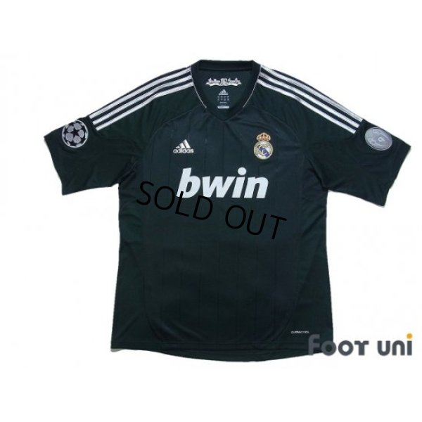 Photo1: Real Madrid 2012-2013 3rd Shirt #4 Sergio Ramos Champions League Patch/Badge