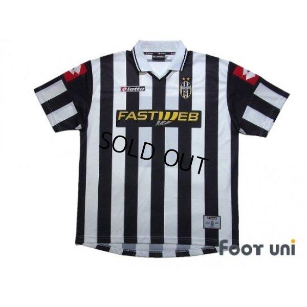 Photo1: Juventus 2001-2002 Home Shirt