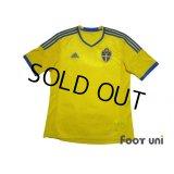 Sweden 2013 Home Shirt