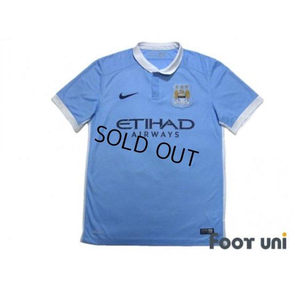 Photo1: Manchester City 2015-2016 Home Shirt #21 David Silva
