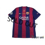 FC Barcelona 2014-2015 Home Shirt #10 Messi w/tags