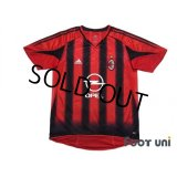 AC Milan 2004-2005 Home Authentic Shirt