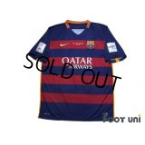 FC Barcelona 2015-2016 Home Shirt #10 Messi FIFA Club World Cup Japan 2015 Patch/Badge w/tags
