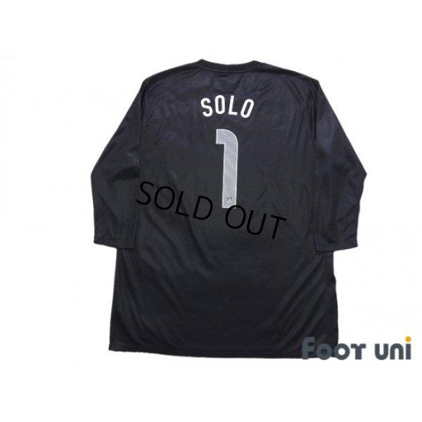 Photo2: USA Women's 2008 GK Three quarter sleeve Shirt #1 Hope Solo w/tags