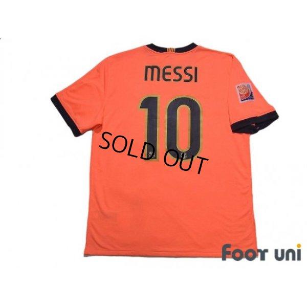 Photo2: FC Barcelona 2009-2010 Away Shirt #10 Messi w/tags