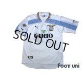 Lazio 1999-2000 Home Centenario Shirt #10 Mancini Lega Calcio Patch/Badge