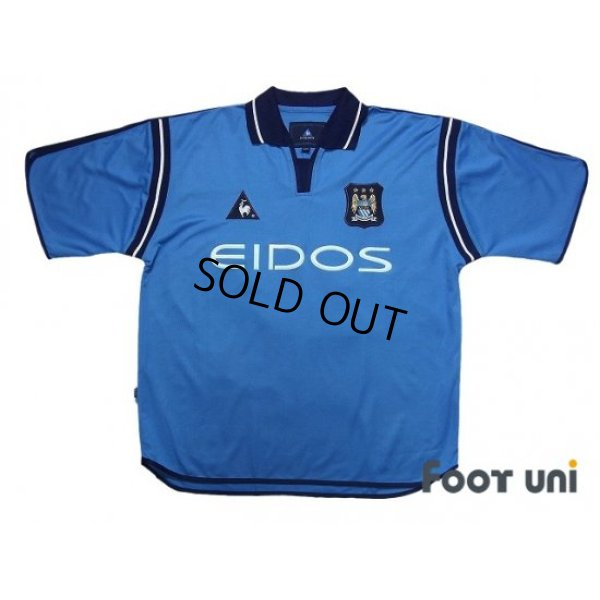 Photo1: Manchester City 2001-2002 Home Shirt #29 Wright-Phillips