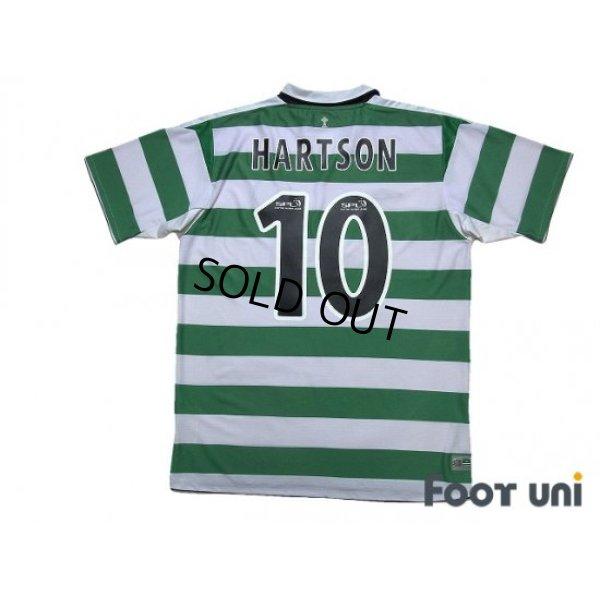 Photo2: Celtic 2004-2005 Home Shirt #10 Hartson