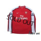Arsenal 2008-2010 Home Long Sleeve Shirt #11 Robin van Persie BARCLAYS PREMIER LEAGUE Patch/Badge