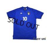 Italy 1999 Home Shirt #10