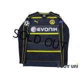 Borussia Dortmund 2016-2017 Away Long Sleeve Shirt #23 Shinji Kagawa w/tags