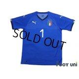 Italy 2018 GK Shirt #1 Buffon w/tags