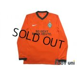 Werder Bremen 2009-2010 3rd Long Sleeve Authentic Shirt #11 w/tags