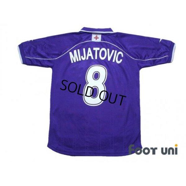 Photo2: Fiorentina 2000-2001 Home Shirt #8 Predrag Mijatovic