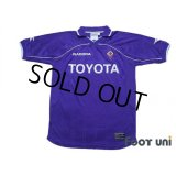 Fiorentina 2000-2001 Home Shirt #8 Predrag Mijatovic