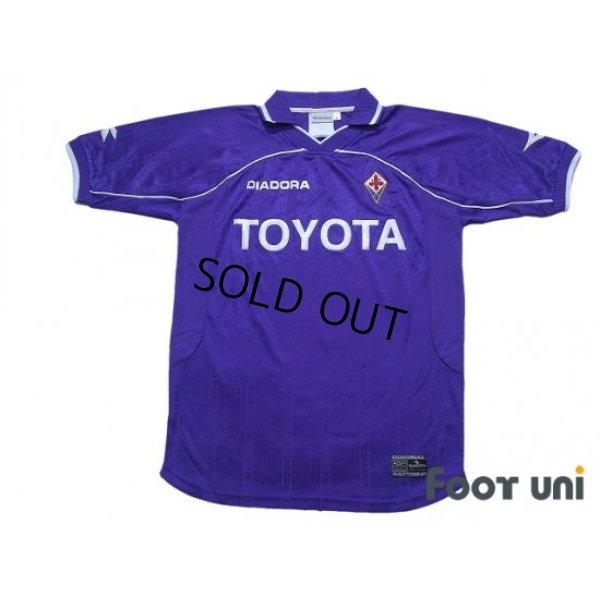 Photo1: Fiorentina 2000-2001 Home Shirt #8 Predrag Mijatovic