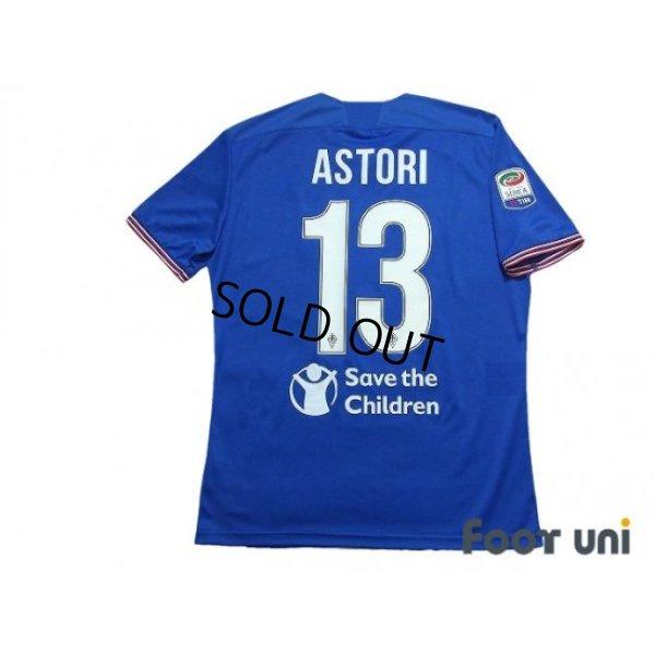 Photo2: Fiorentina 2017-2018 Away Shirt #13 Davide Astori Serie A Tim Patch/Badge w/tags