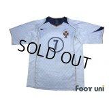 Portugal 2004 Away Shirt #7 Luis Figo
