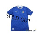 Italy Euro 2012 Home Shirt