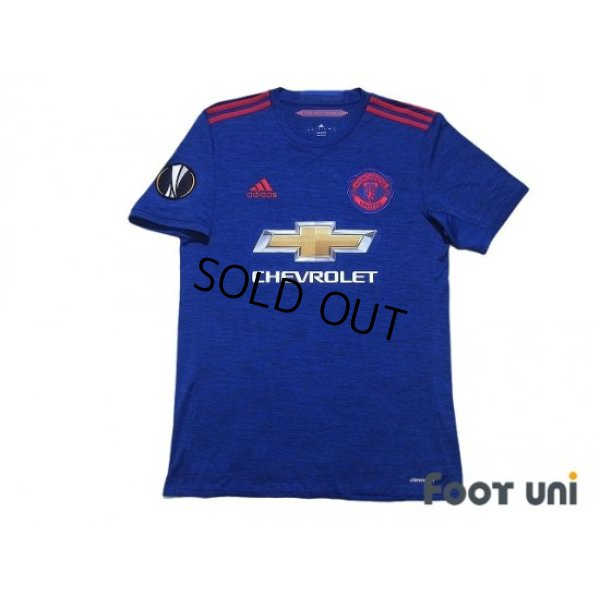 Photo1: Manchester United 2016-2017 Away Shirt #3 Eric Bailly EL Patch/Badge