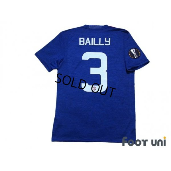 Photo2: Manchester United 2016-2017 Away Shirt #3 Eric Bailly EL Patch/Badge