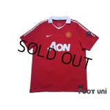 Manchester United 2010-2011 Home Shirt #14 Chicharito Respect Patch/Badge