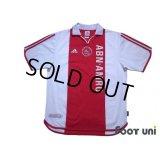 Ajax 2000-2001 Home Centenario Shirt