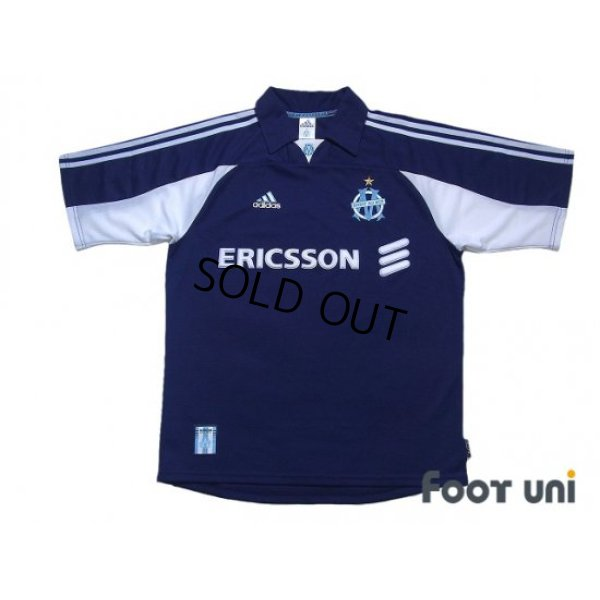 Photo1: Olympique Marseille 1999-2000 Away Shirt