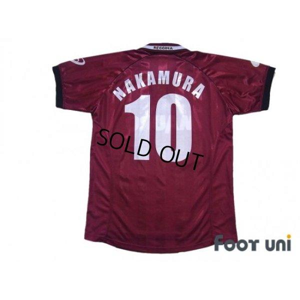 Photo2: Reggina 2002-2003 Home Shirt #10 Shunsuke Nakamura