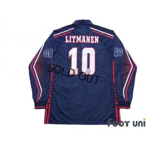 Photo2: Ajax 1997-1998 Away Long Sleeve Shirt #10 Jari Litmanen