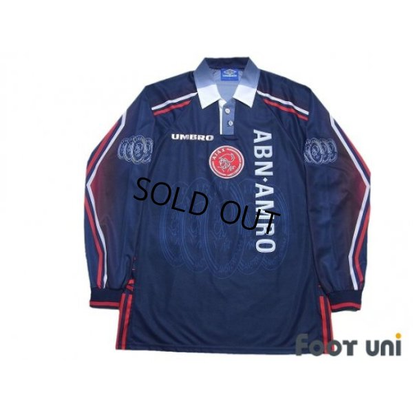 Photo1: Ajax 1997-1998 Away Long Sleeve Shirt #10 Jari Litmanen