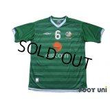 Ireland 2003 Home Shirt #6 Roy Keane
