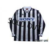 Juventus 1996-1997 Home Long Sleeve Shirt #21 Zidane