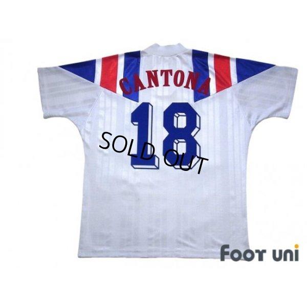 Photo2: France 1992 Away Shirt #18 Eric Cantona
