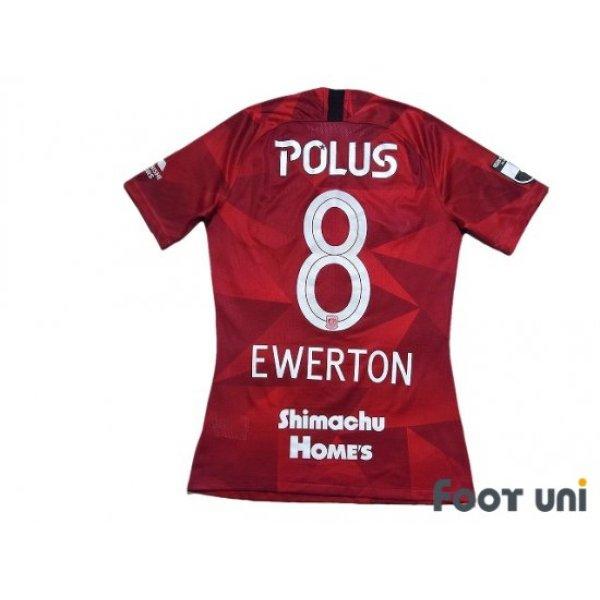 Photo2: Urawa Reds 2020 Home Authentic Shirt #8 Ewerton