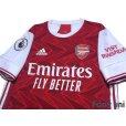 Photo3: Arsenal 2020-2021 Home Authentic Shirt #23 David Luiz Premier League Patch/Badge