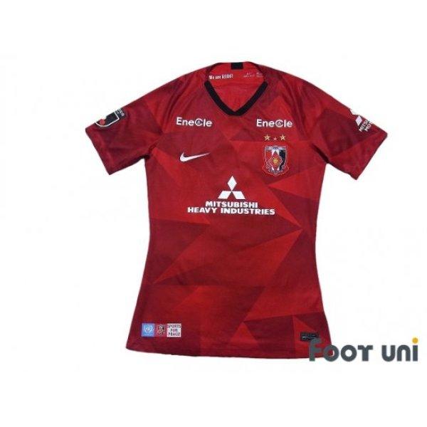 Photo1: Urawa Reds 2020 Home Authentic Shirt #8 Ewerton