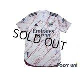 Arsenal 2020-2021 Away Authentic Shirt #6 Gabriel Premier League Patch/Badge
