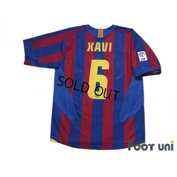 Photo2: FC Barcelona 2005-2006 Home Shirt #6 Xavi Xavier Hernandez LFP Patch/Badge w/tags