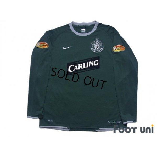 Photo1: Celtic 2007-2008 Away Long Sleeve Shirt #25 Shunsuke Nakamura Clydesdale Bank Patch/Badge
