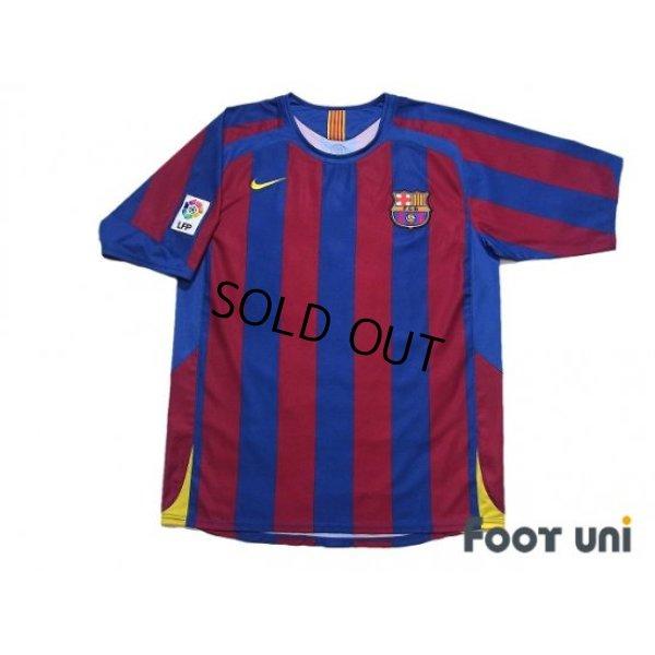 Photo1: FC Barcelona 2005-2006 Home Shirt #6 Xavi Xavier Hernandez LFP Patch/Badge w/tags